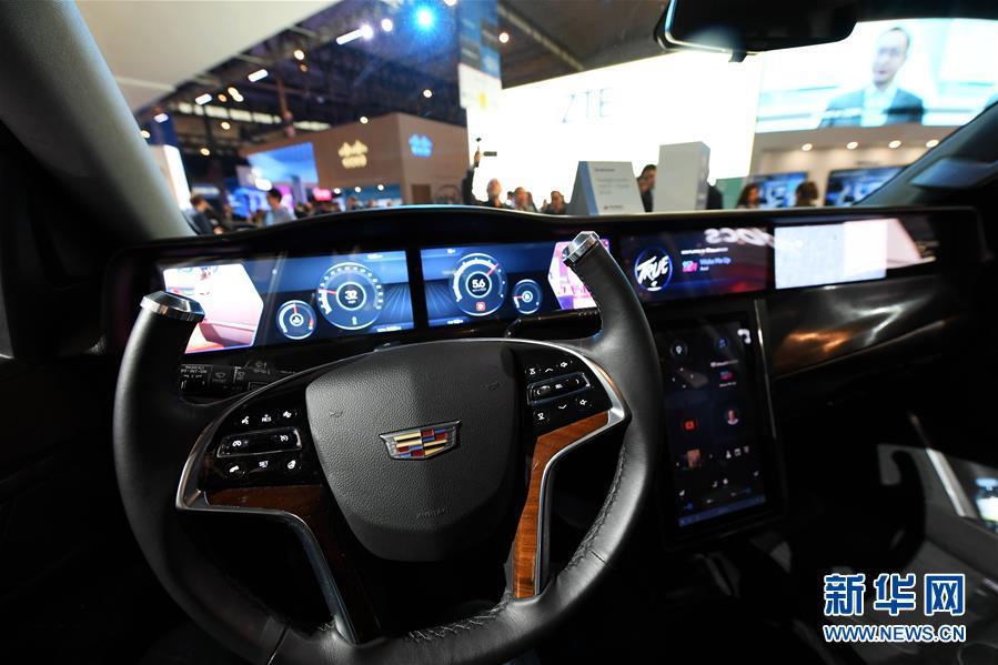 """(国际·图文互动)(2)""""万物互联""""带动汽车科技革命"""