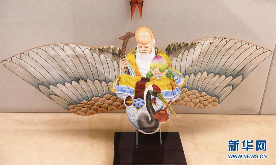 (新华网)(3)山东潍坊:风筝博物馆引游人