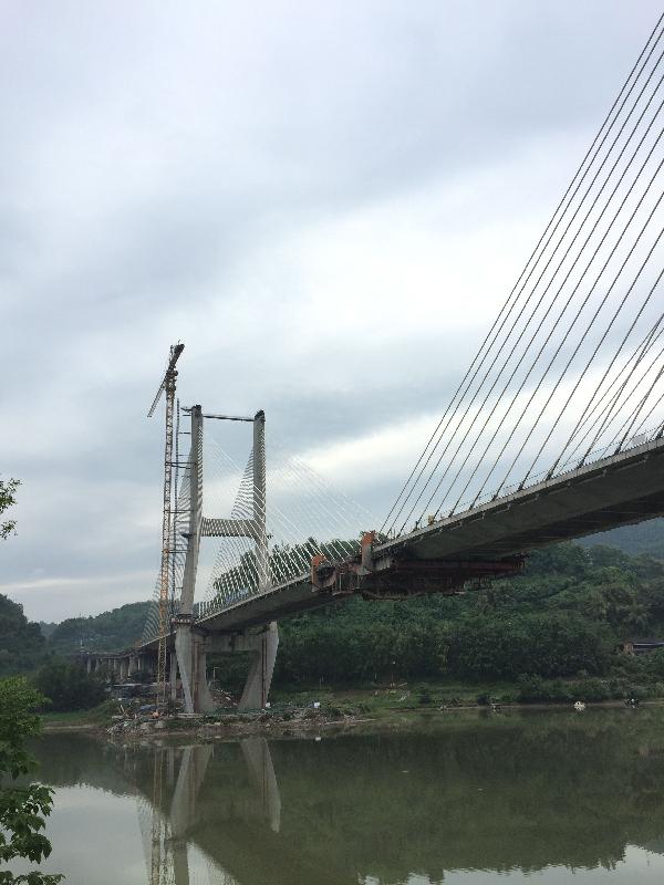 达州金南大桥_达州金南大桥的承建单位是哪家-