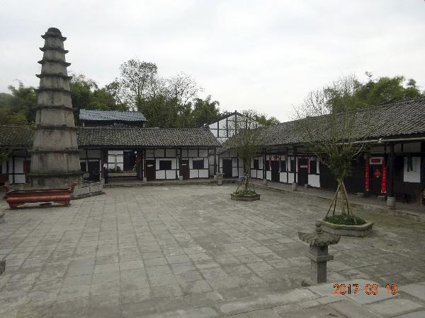 渠县中滩有座 佛祖真身舍利宝塔?
