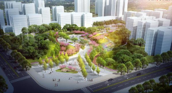 好消息!达州西外紫荆花公园开建啦