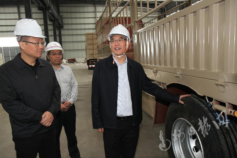 郭亨孝:抓好产业和园区规划 推动玄武岩纤维发展