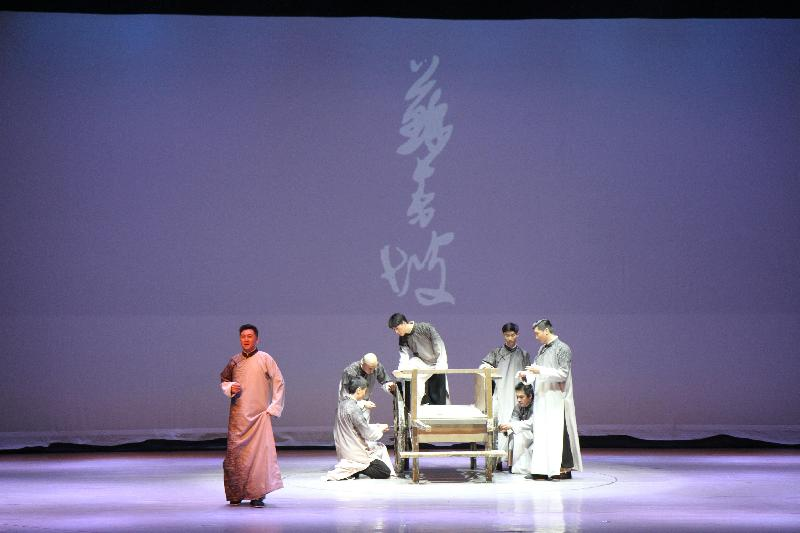 省人艺大型原创舞台剧《苏东坡》在达精彩上演