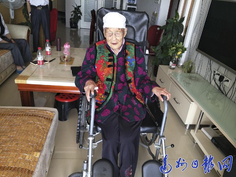 善良 滋养达城106岁老人谭显珍走过世纪人生