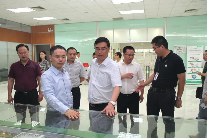 郭亨孝率队赴广东东莞OPPO公司开展投资促进活动